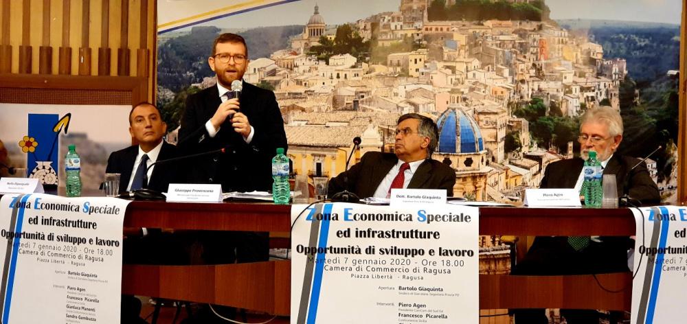 Ragusa - convegno, con il ministro provenzano, su zes e infrastrutture: anche vittoria avra' la sua zes.