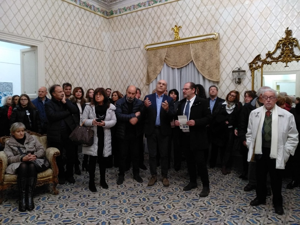 """Comiso - inaugurata a palazzo fidone la sede di """" arteinsieme """"."""